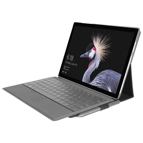 Tucano Milano Italy Infinito Keyboard Case for Surface Pro 7/6 - Black
