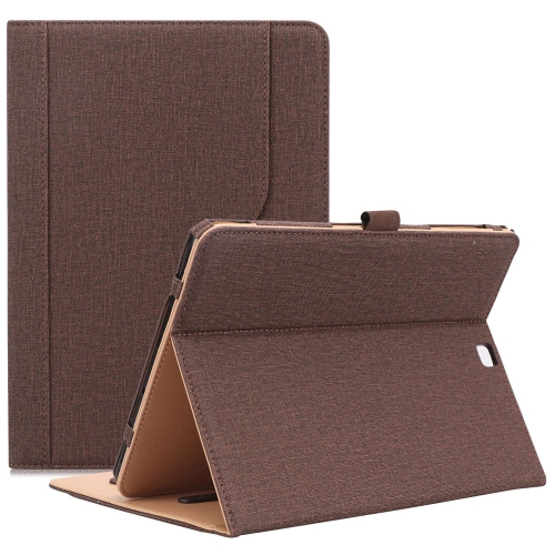 online retailer 72f67 07e5c Samsung Galaxy Tab S2 9.7 Case, Stand Folio Cover Case for Galaxy Tab S2  Tablet (9.7 Inch, SM-T810 T815 T813) -Chocolate
