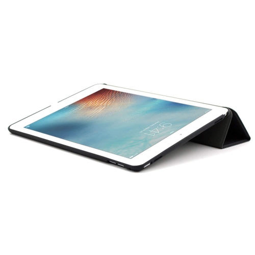 brand new 41133 decbc KHOMO iPad Pro 9.7 Inch Case (2016) - DUAL Black Super Slim Cover with  Rubberized back and Smart Feature (Built-in magnet for