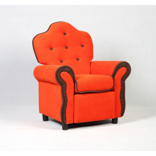 e5009a000993 Costway Child Recliner Kids Sofa Chair Couch Living Room Furniture Orange -  Online Only