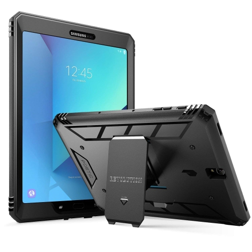pretty nice 761b7 38781 Poetic Revolution Galaxy Tab S3 9.7 Case with Hybrid Heavy Duty Protection  and Built-in Screen Protector and Kickstand