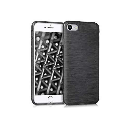 Kwmobile Tpu Silicone Case For Apple Iphone 7 8 Soft Flexible Shock Absorbent Protective Phone Cover Anthracite Transparen Best Buy Canada