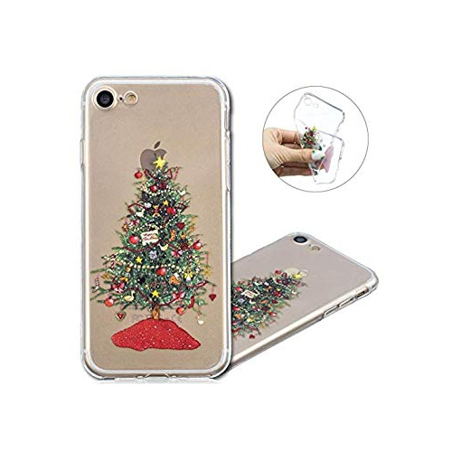 Iphone 8 Case Cotdinforca Merry Christmas Series Clear Soft