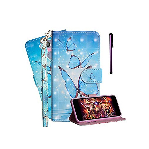 sports shoes 53d0c f6733 New! ISADENSER Sony Xperia XA2 Ultra Case with Shockproof Credit Holder  Wristlet 3D Painting Book Series Leather PU Full Protect Fl - Online Only