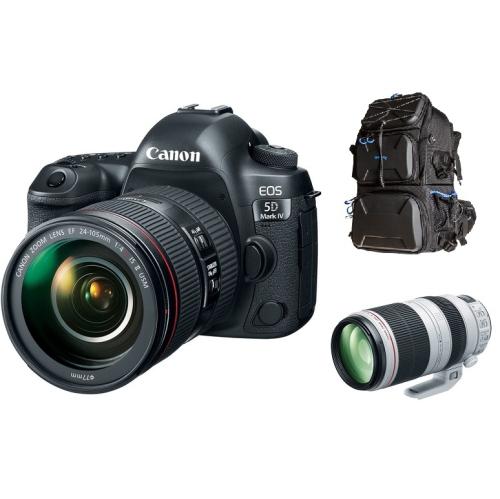 Canon EOS 5D Mark IV with 24-1