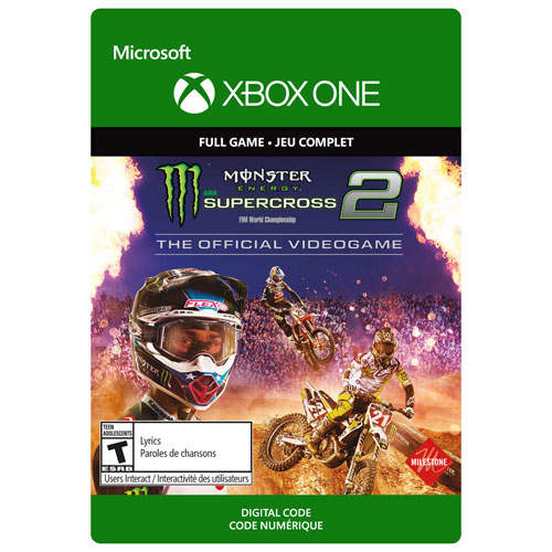 Monster Energy Supercross 2: The Official Videogame - Digital Download
