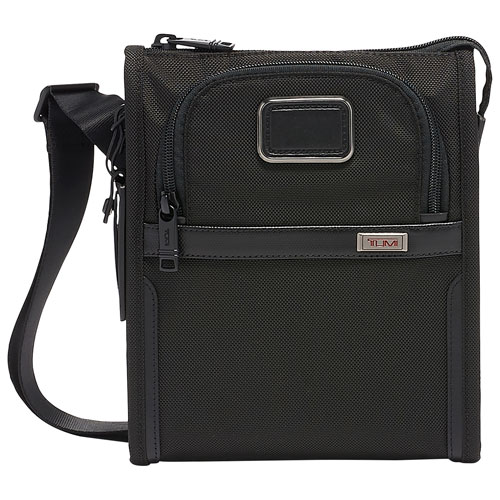 TUMI Alpha 3 Pocket Ballistic Crossbody Bag - Small - Black   Crossbody Bags  - Best Buy Canada b8eeebbc39f21