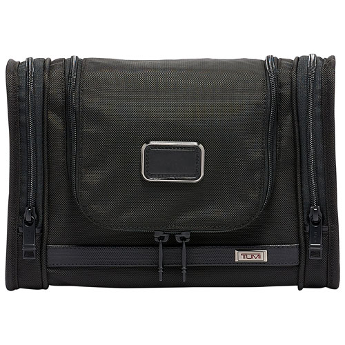 TUMI Alpha 3 Hanging Ballistic Travel Kit - Black   Cosmetic ... dc10fb7728dc1