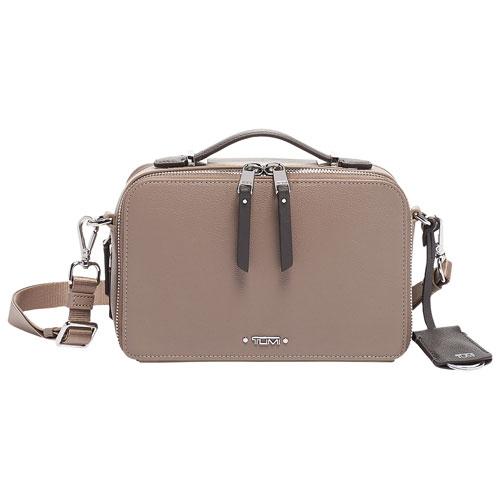8aa4f39ba6 TUMI Voyageur Aberdeen Leather Crossbody Bag - Gobi   Crossbody Bags - Best  Buy Canada
