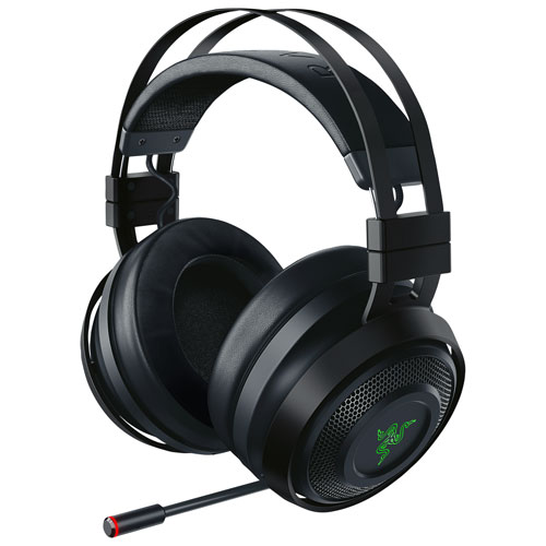 Casque de jeu sans fil avec microphone Nari Ultimate de Razer - Noir