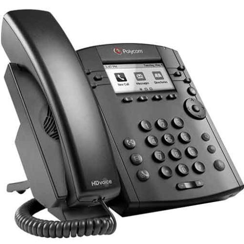 VVX 301 6-LINE DESKTOP PHONE WITH HD VOI