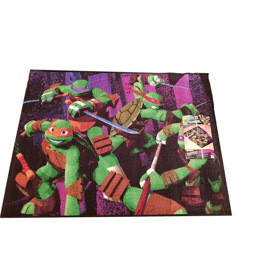Nickelodeon Teenage Mutant Ninja Turtles Decorative Rug Kids Floor Mat 39.5 x 54 Inch
