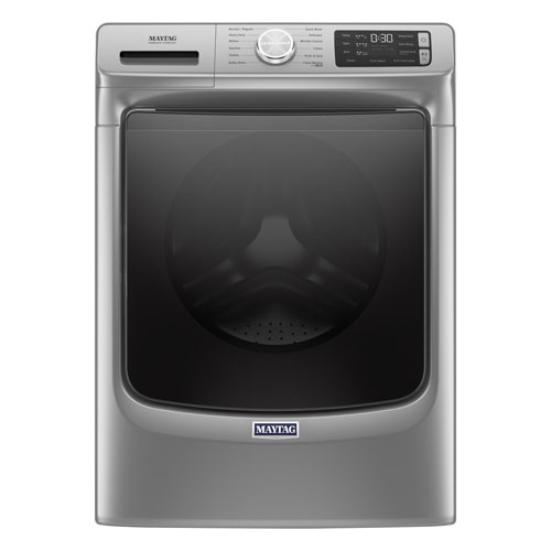 Maytag 5.5 Cu. Ft. High Efficiency Front Load Steam Washer - Metallic Slate