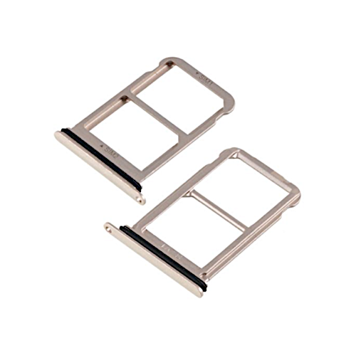 Huawei P20 Sd Karte.C Logix Compatible Gold Sim Card Sd Card Tray Replacement For Huawei P20