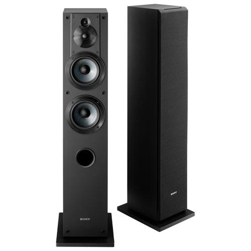 Haut-parleur colonne à 3 voies de 145 W SS-CS3 de Sony - Unité - Noir