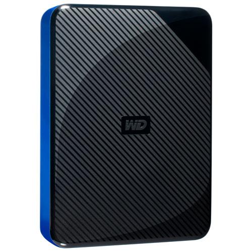 Disque dur externe de bureau USB 3.0 de 4 To Game Drive de WD pour PS 4