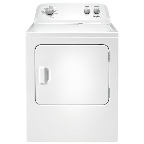d7c2c172abe2 Whirlpool 7.0 Cu. Ft. Electric Dryer (YWED4850HW) - White - Open Box ...