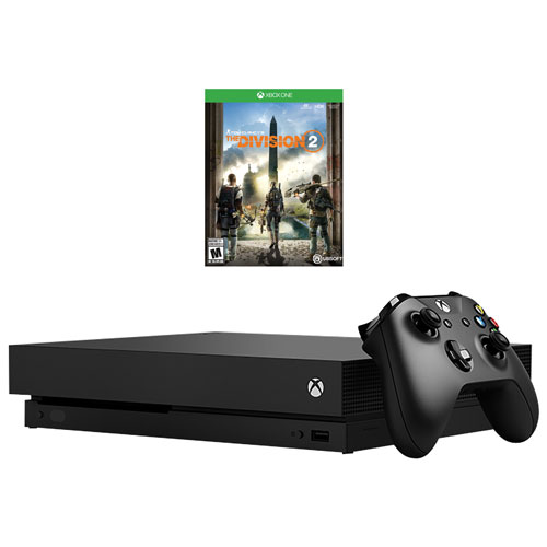 Xbox One X 1TB Tom Clancy's The Division 2 Bundle