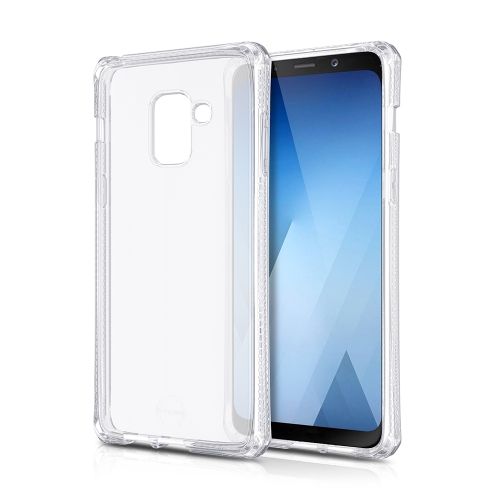 detailed look 580a8 d51e6 ITSKINS - SPECTRUM - SAMSUNG GALAXY A8 - CLEAR