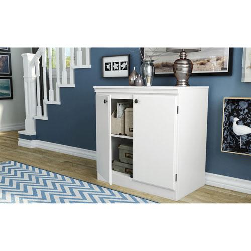 Morgan 2-Drawer Storage Cabinet - Pure White
