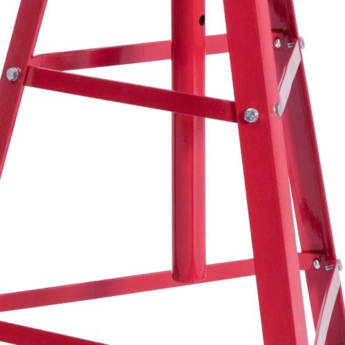 Heavy Duty 2 Ton Under Hoist Tripod Jack  Adjustable Height 48.5-84 Automotive Tools & Supplies