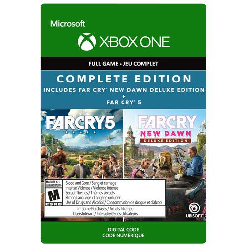 Far Cry New Dawn Deluxe Edition/Far Cry 5 - Digital Download