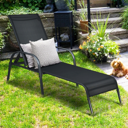 Goplus Patio Chaise Lounge Outdoor, Pool Chaise Lounge Chairs Canada
