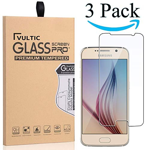 c95f15cf90d Vultic Galaxy S6 Screen Protector Tempered Glass [Case Friendly] Film Cover for  Samsung Galaxy S6 [3 | Best Buy Canada