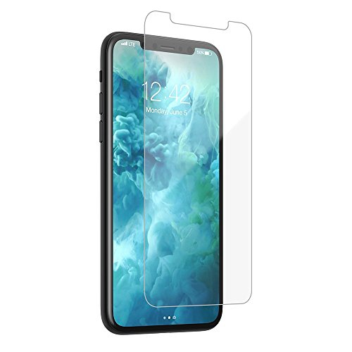 sports shoes e89b0 8c441 iPhone X - Glass Screen Protector - CASE-MATE - Tempered Glass - Anti  Fingerprint - 9H - Apple iPhon