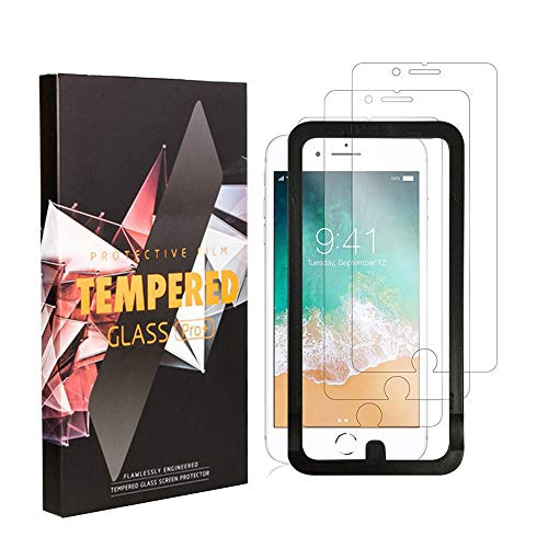 Screen Protector for iPhone 7, iPhone 6 Glass Protector, iPhone 6S Screen  Replacement Glass and iPho