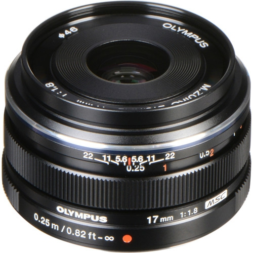 Olympus M.Zuiko Digital 17mm f/1.8 Lens - US Version w/Seller Warranty