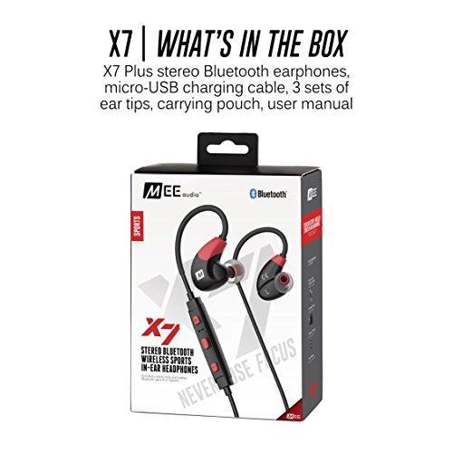 4e1d27ffa2c MEE audio X7 Stereo Bluetooth Wireless Sports in-Ear Headphones Red (EP-X7 -RDBK-MEE) | Best Buy Canada