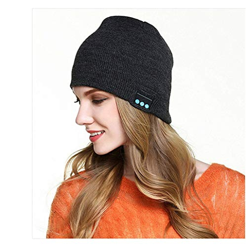 1b14d978d47bb Winter Bluetooth Beanie Hat Unisex Wireless Musical Knit Cap Washable with  Stereo Speakers Headphone