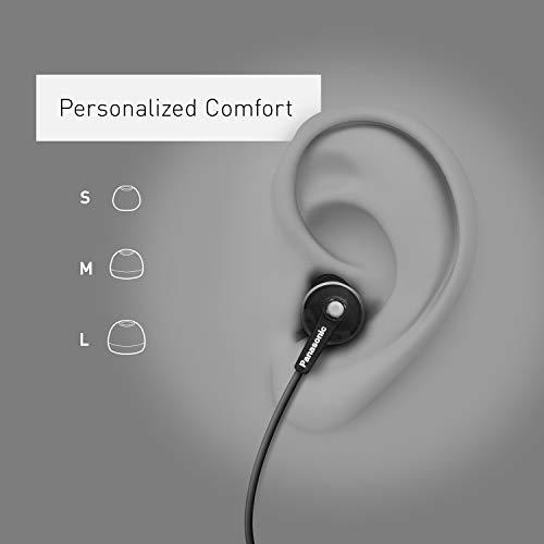 Panasonic RPHJE120S In-Ear Headphone, Silver