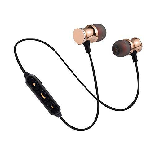 Bluetooth Earbuds Headphones Neckband Wireless Bluetooth Headset Sports  Stereo Noise Cancelling in E