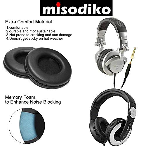 2f6628fa666 misodiko Replacement Headphones Ear Pads Cushions Kit - for Sony MDR V700DJ  V500DJ, Sennheiser HD 20   Best Buy Canada