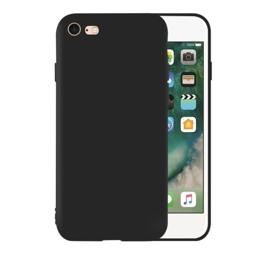 newest 78775 67f76 PANDACO Soft Shell Matte Black Case for iPhone 6 Plus or iPhone 6s Plus