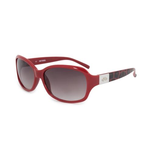 0b393836a33fb Harley Davidson Oval Sunglasses HDS5021 RD 35 58