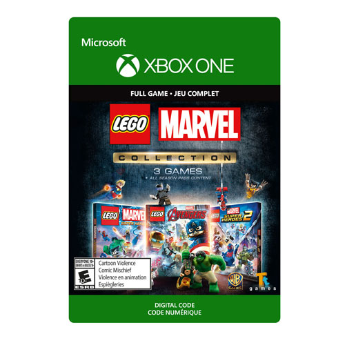 Lego Marvel Collection Xbox One Digital Download Best Buy Canada