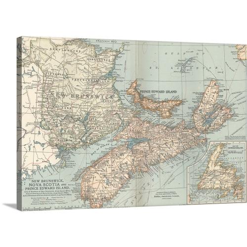 Encyclopaedia Britannica Premium Thick-Wrap Canvas Wall Art Print 48 ...