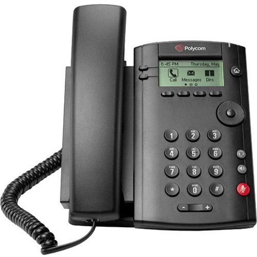 Polycom VVX 101 IP Phone - Desktop, Wall Mountable