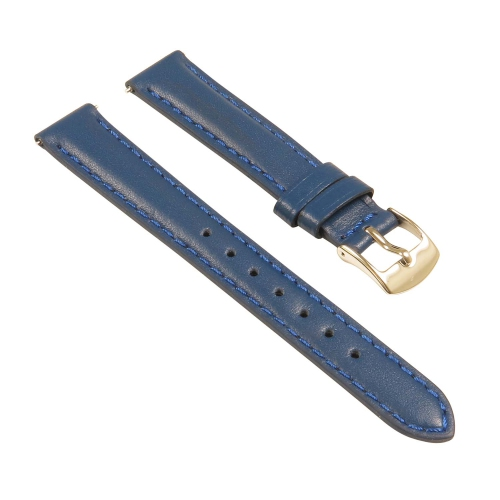 ec6928f436b StrapsCo Classic Ladies Leather Watch Band - Quick Release Women s Strap -  22mm Blue - Online Only