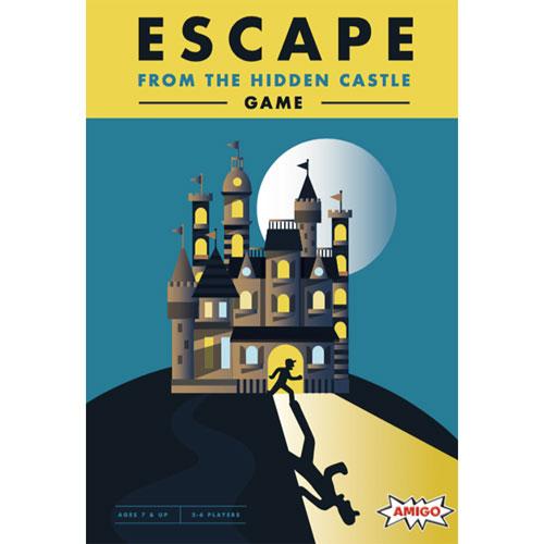 Escape From The Hidden Castle Board Game - English