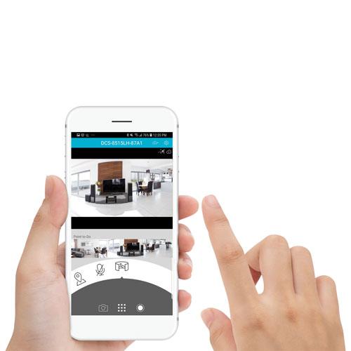 D-Link Wi-Fi Indoor 720p HD Pan & Tilt IP Camera - White