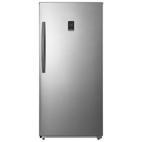 Réfrigérateur/congélateur vertical convertible sans givre 13,8 pi³ d'Insignia - Inox - Exclu.Best Buy
