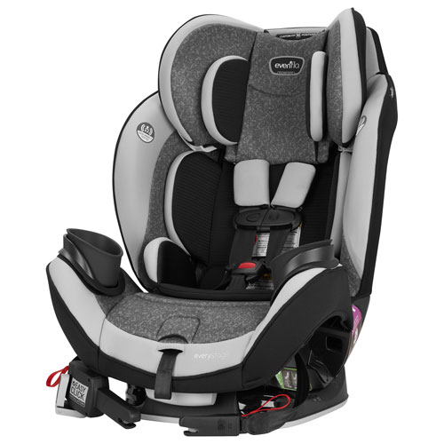 Evenflo 39212234C EveryStage Deluxe Convertible 3-in-1 Car Seat - Latitude