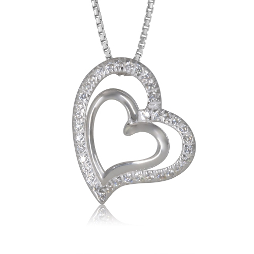 990545fabed4 Sterling Silver Cubic Heat Pendant   Best Buy Canada