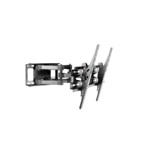 """Support mural pour téléviseur inclinable à deux bras et à armature épaisse, à mouvement complet, 32"""" - 70""""(Noir)"""