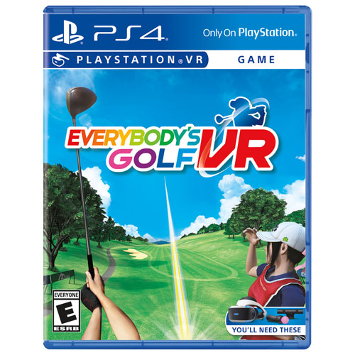 Everybody's Golf VR pour PlayStation VR