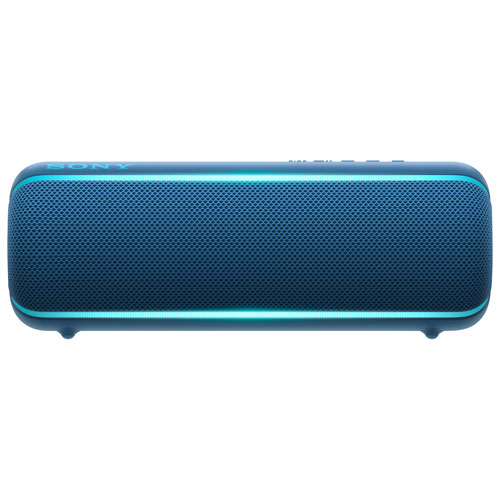 Sony XB22 EXTRA BASS Waterproof Bluetooth Wireless Speaker - Blue SRSXB22/L